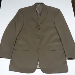 Kenneth Cole blazer olive green mens 39R